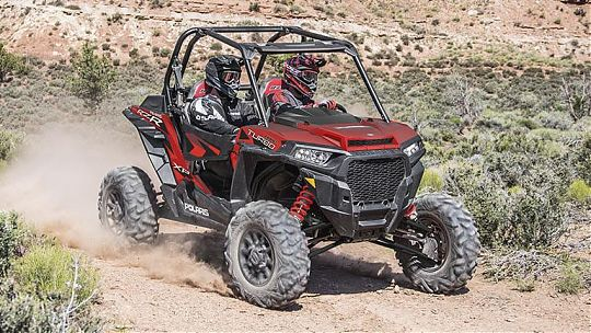 Мотовездеход RZR XP TURBO EPS Fox Edition фото